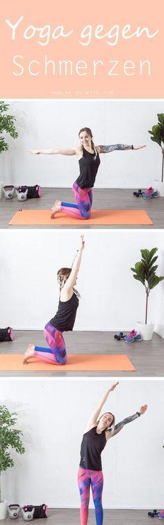 Yoga gegen Rückenschmerzen ist nicht schwer durchzuführen. Die sanften Dehnungen und Streckungen lösen die verklebten Faszien, fördern die Durchblutung und wirken schmerzlindernd. Dieses Faszien Yoga löst Verspannungen in den Schultern, im Nacken und im R