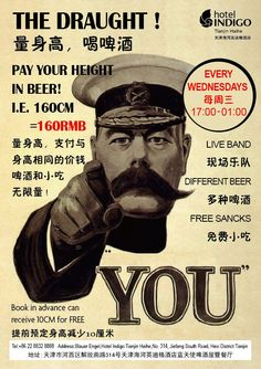 "Every Wednesday Night's ""Pay Your Height in Beer"" @ Blauer Engel. i.e. if your height is 160cm, then you pay 160rmb for free flow of selected German and international award winning beers (Heineken, Corona, Hoegaarden, Boddingtons, Asahi, Munchen Royal Draft and Tsingtao Draft). we also throw in a snack buffet (chips, popcorn, green beans, fresh fruit) and a live Jazz band to keep you entertained! Don't Miss!"