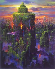 "Paul Lehr - ""one of the greatest future-fantasist painters of the post-pulp era"""