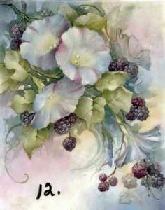 China Painting - Morning Glories on Pinterest