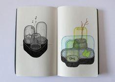 Croquis de recherche (outil de création) Donges Ionna Vautrin Illustration Design Graphique, Graphic Illustration, Sculpture Projects, Ceramic Design, Illustrations, Plant Design, Sketch Design, Disney Drawings, Design Process