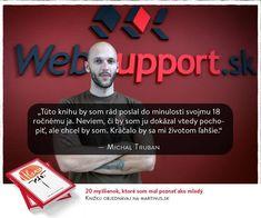Podnikateľ s velkým P. Michal nás denne inšpiruje vo všetkom čo robi. Je nám ctou, že je súčastou našej knizky. 🙂#Hlava20 Pandora