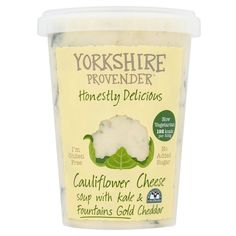 Soup || Cauliflower Cheese w/ Kale & Fountains Gold Cheddar