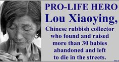 In the midst of the extraordinary evil of the Chinese one-child policy -where forced abortion andsterilisationof women is the governme...