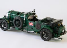 Bentley Blower, Lego Auto, Lego Machines, Lego Vehicles, Lego Military, Lego Castle, Lego Moc, Lego Technic, Lego Instructions