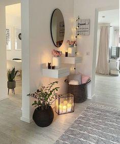 Home Room Design, Home Interior Design, Living Room Designs, House Design, Interior Architecture, Living Room Decor Cozy, Home Living Room, Bedroom Decor, Entryway Decor