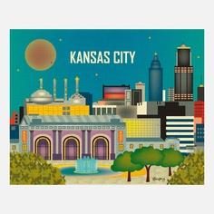 Fab.com | Kansas City Print