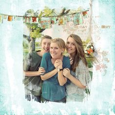 Today is a Gift: Digital Photo Blends Tutorial by Guest Artist Michelle…