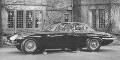 Jaguar E-type saloon, XJ4,1964
