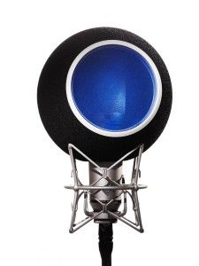 Kaotica Eyeball Acoustic Isolation for Vocal Microphones at Voice Acting, The Voice, Slate Digital, Professional Headphones, Blue Yeti, Sound Studio, Studio Equipment, All Of The Lights, Filter