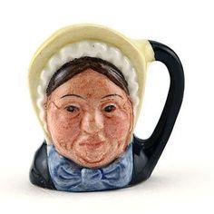 Betsy Trotwood D6685 - Tiny - Royal Doulton Character Jug