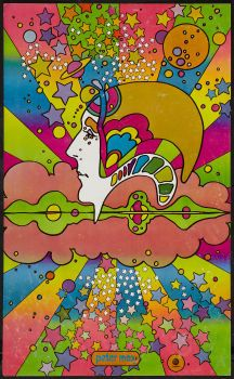"""Movie Posters:Rock and Roll, Peter Max (Capitol, 1960s). Art Poster (12.5"""" X 20.5""""). DS. Rockand Roll.. …COLOR RESEARCH"""