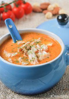 Sopa de romesco con pollo | L'Exquisit