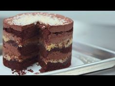Momofuku Milk Bar's German Chocolate Jimbo Cake | Get the Dish - YouTube