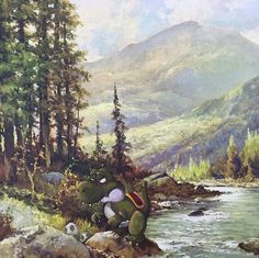 Geeky Thrift paintings
