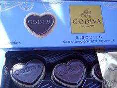 Godiva Biscuits - Dark Chocolate Truffles #PANDORAvalentinescontest