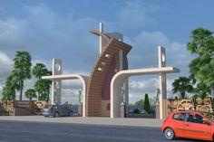 10518861_892061824172627_8223666616755995687_n Entrance Gates, Main Entrance, Grand Entrance, House Map, Gate House, Entrance Design, Gate Design, Urban Architecture, Amazing Architecture