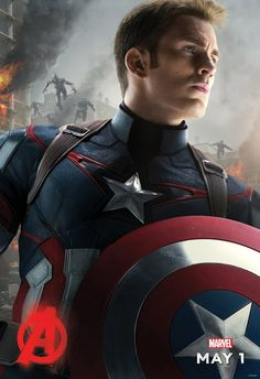 Captain America Avengers: Age of Ultron poster