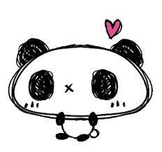 Resultado de imagem para desenho  panda