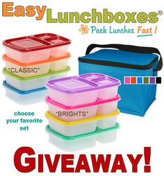 Easy Lunchboxes Giveaway-Ends 3/7 (US) - Give Oh GiveawayGive Oh Giveaway
