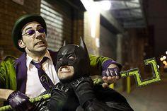 batman cosplay | Batman vs. The Riddler | Cosplay