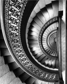 Lovely shot of this spiral staircase by @lexlexie Via: @worldneedsmorespiralstaircases . . . . . #abstract #building #nature_uc #buenosaires #decoraçãodeinteriores #arquiteta #arcblu #minimalismo #mansion #arch #superarchitects #architizer #architecturelover #tv_pointofview #design #mixedmedia #arts #cbviews #illustration #decorating #arkiromantix #archidesign #d_signers #architecturephotography #structures_greatshots #archhunter #minimal_perfection #decor #town #lookingupatbuildings…