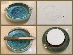 Peter Wallace Crystalline Glaze huge diameter Bowl dated 2002 found in a box dumped at the back of the store. Glazed Pottery, Glazes For Pottery, Pottery Shop, Store, Box, Snare Drum, Business, Shop, Storage