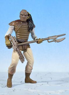 "Star Wars POTF Skiff Guard WEEQUAY 3.75"" Action Figure Kenner 1997  #Kenner"