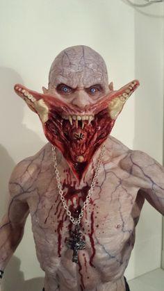 Blade 2 - Reaper, hand made sculpture, polymer clay
