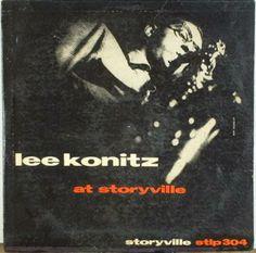 Lee Konitz at Storyville, label: Storyville LP 304 (1954) Design: Burt Goldblatt.
