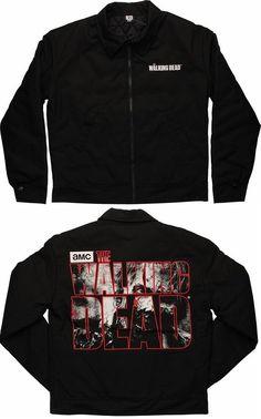Walking Dead Zombie Name Jacket