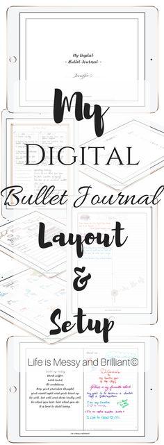 Digital Bullet Journal and Free Bullet Journal printables.