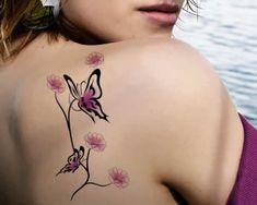 tatuagem feminina borboleta 2015