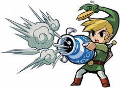 Link Waving - Characters & Art - The Legend of Zelda: The ...