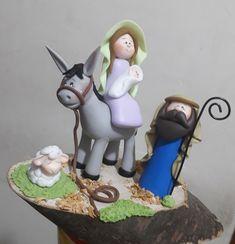 Pasta Flexible, Biscuit, Nativity, Garden Sculpture, Outdoor Decor, Kid Cakes, Christmas Ornaments, Craft, Cold Porcelain