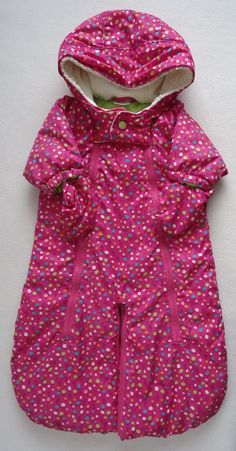 Able Dora The Explorer Baby Girl Hooded Snowsuit 3-6 Months Moderate Cost Outerwear Girls' Clothing (newborn-5t)