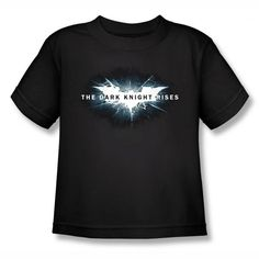 Batman Dark Knight Rises Movie Logo Kids T-Shirt $14.99 http://pinterest.com/nfordzho/2013-fashion-t-shirts/
