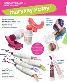 Hot NEW Products, Hot NEW Shades! All from Mary Kay! Contact me Today to get these beauties, https://www.facebook.com/robynmkbeauty