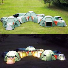 tent city. How fun would this be?