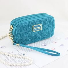Vintage Allure Cosmetic Bag with Wristlet > Amazing product just a click away  : Travel cosmetic bag