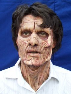MUCH more complicated! Axed-zombie-makeup