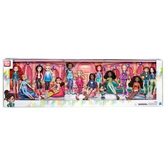 Disney Princess Ralph Breaks the Internet Movie Dolls with Comfy Clothes and Accessories, 14 Doll Ultimate Multipack Disney Barbie Dolls, Disney Princess Dolls, Princess Toys, Disney Princess Pictures, Disney Princesses, Toys For Girls, Kids Toys, American Girl Doll Room, Arte Do Kawaii