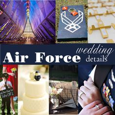 Wedding Wednesday: Air Force Military Wedding Details — Boston Wedding Planner - The Perfect Details