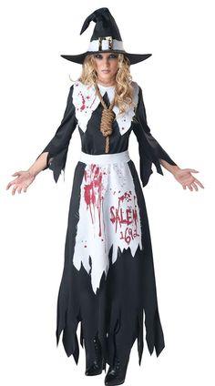 Halloween BLOODSTAINED SALEM WITCH COSTUME - Cadılar Bayramı Kostümleri