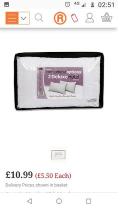 Hotel Pillows, Facial Tissue, Personal Care, Cover, Self Care, Personal Hygiene