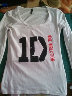 How to make a One Direction T-Shirt! How did I not  find this before?!?!