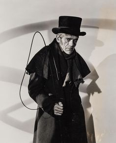 "Boris Karloff in ""The Body Snatcher"" (1945)"