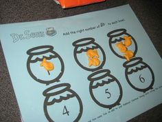 One Fish Two Fish...printable for goldfish snack