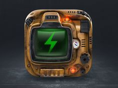 Fallout.fm icon by Victor Vector - Dribbble