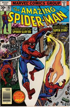 Amazing Spider-Man 1963 1st Series 167 April 1977 by ViewObscura